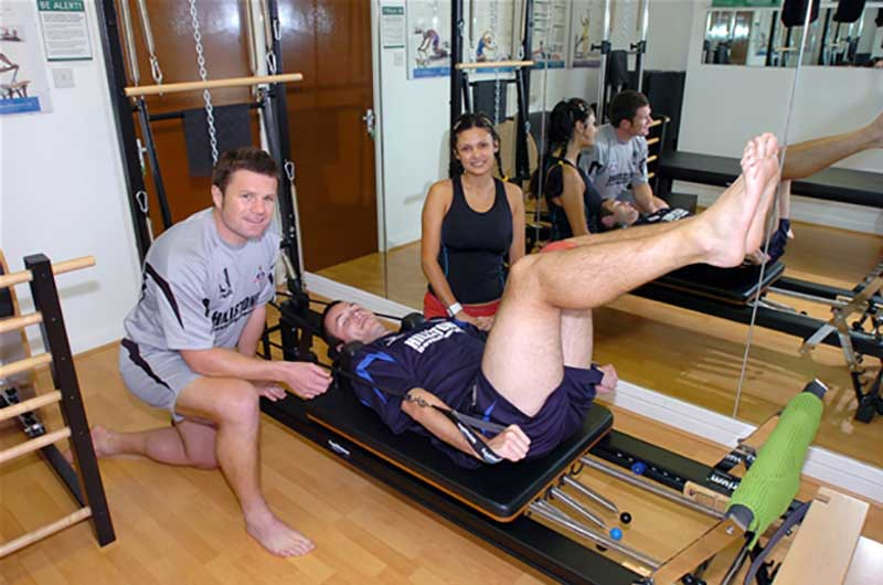 Pilates for football